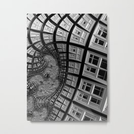 Windows of Perception Metal Print