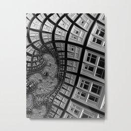 Windows of Perception Metal Print