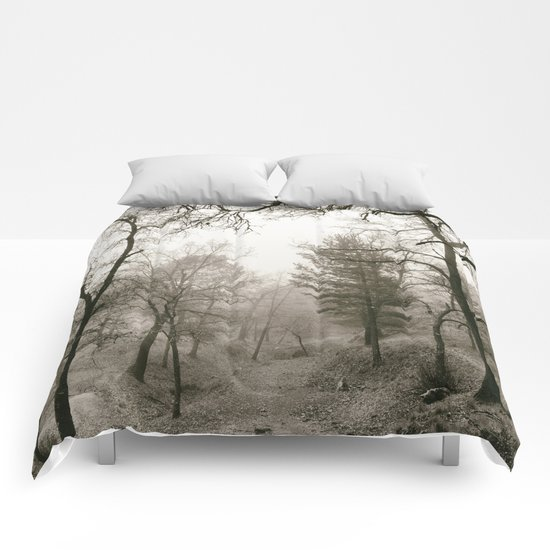 """""""Forest arms"""". Into the woods Comforters"""