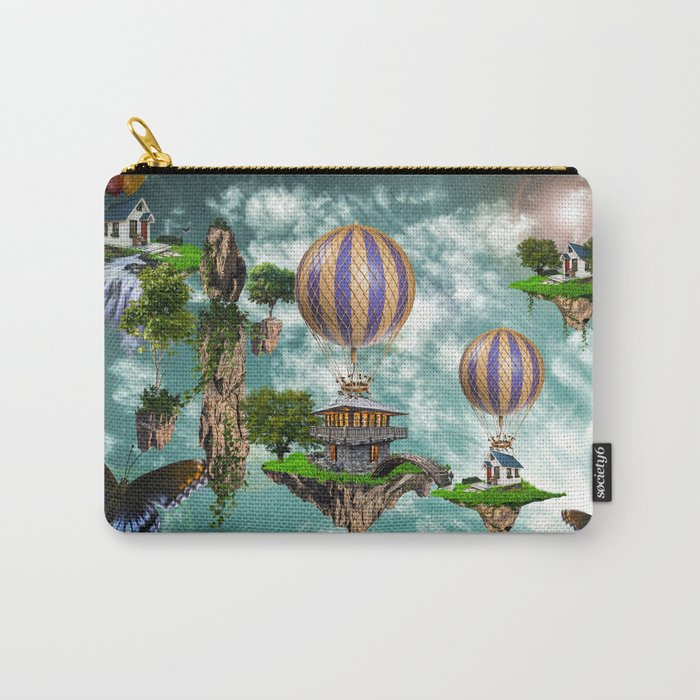 Balloon House Carry-All Pouch