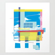 funky town Art Print