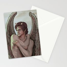 Don't get too close, It's dark inside Stationery Cards