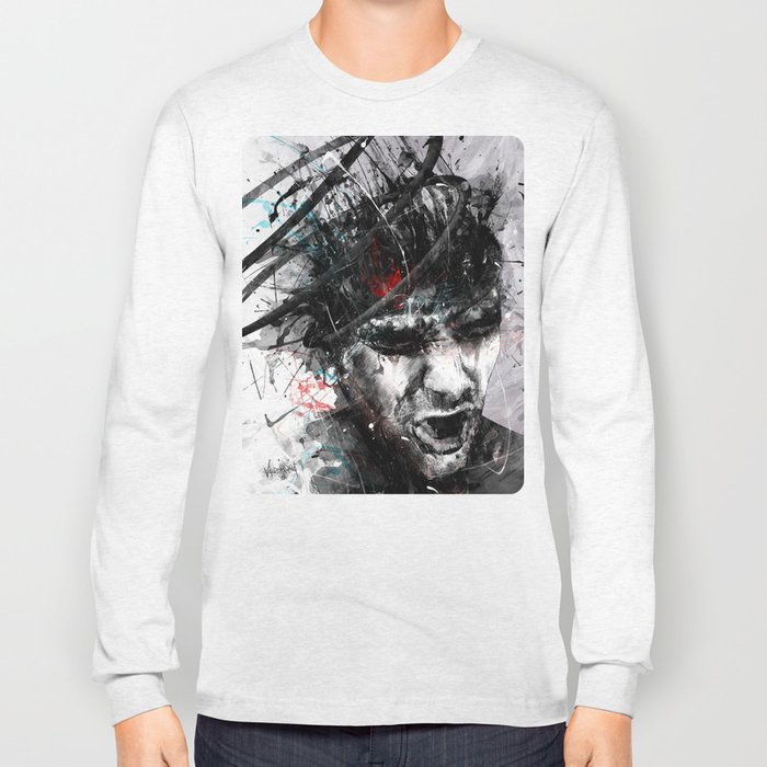 Spiral Combustion Long Sleeve T-shirt