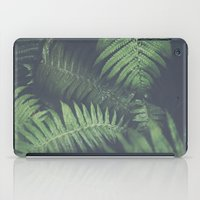 fern iPad Cases featuring fern by elle moss