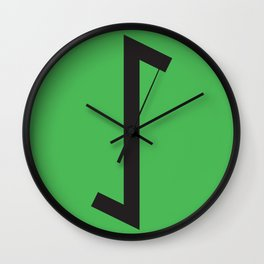 Showtasting - Rune 16 Wall Clock