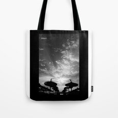 Sky  Explosion Tote Bag