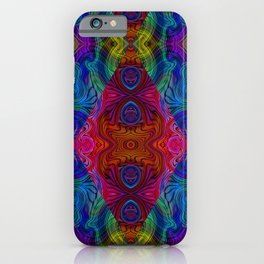 Varietile 50c (Repeating 1) iPhone Case