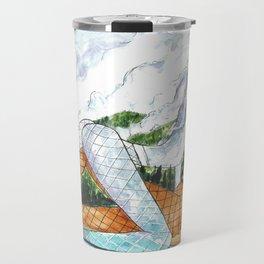 PNW Fishnets - Earth and Sky Goddess Kiss Painting Travel Mug