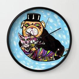 Onita & Melvin Wall Clock