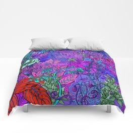 Electric Garden Comforters