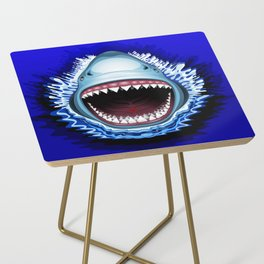 Shark Jaws Attack Side Table