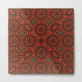 Royal Mandala Metal Print
