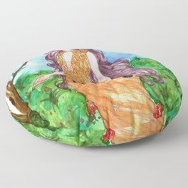 Spring is comming - Persephone Floor Pillow