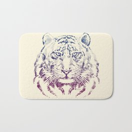 TIGER HEAD Bath Mat