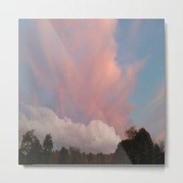 Dance of Two Clouds Metal Print