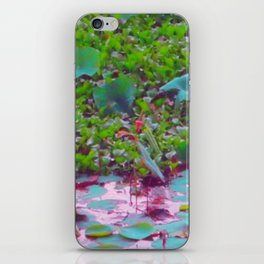 Lily Pond 2 iPhone Skin