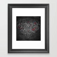 Welcome Home Framed Art Print