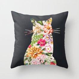 Tropicat Throw Pillow