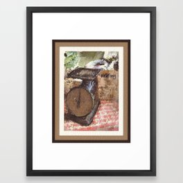 Farmer's Scale Framed Art Print