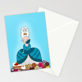 Marie Antoinette Wants Candy Stationery Cards