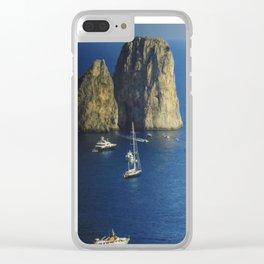 Capri, Amalphi Coast, Italy 7 Clear iPhone Case