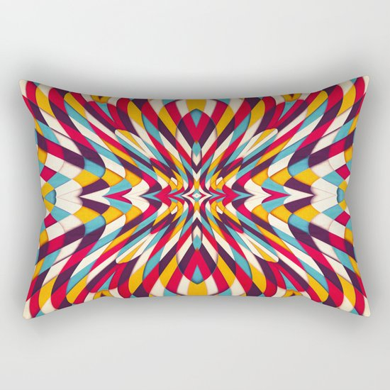 Portuguese Sidewalk Rectangular Pillow