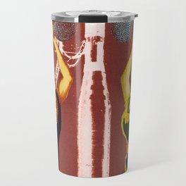 Pyramid of love Travel Mug