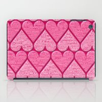 hearts iPad Cases featuring Hearts by Harvey Warwick