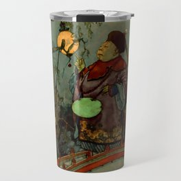 """""""In Search of a Nightingale"""" by Edmund Dulac Travel Mug"""