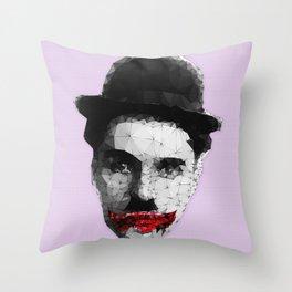 Charlie the Joker Throw Pillow