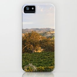 Paso Robles Hills iPhone Case