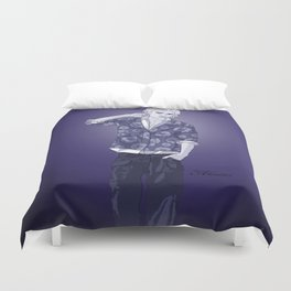 Indigo Philip Duvet Cover