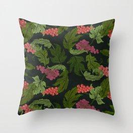 Velo de Flor Throw Pillow
