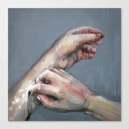 Under My Skin Canvas Print