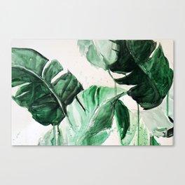 Look their's a unic...banana! Canvas Print