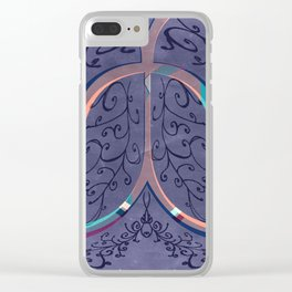 Bellflower Clear iPhone Case