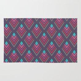 Deco violet elegant pattern Rug