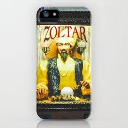 Mighty Zoltar Speaks iPhone Case