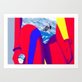 Space Woman Art Print