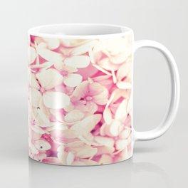 Rose Pink Flowers (Hydrangea) Coffee Mug