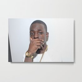 Bobby Shmurda - Ackquille Jean Pollard - Rap - S6 - Hot Nigga - Brooklyn - bb  Gang Metal Print