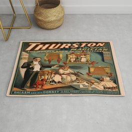 Vintage poster - Thurston the Magician Rug