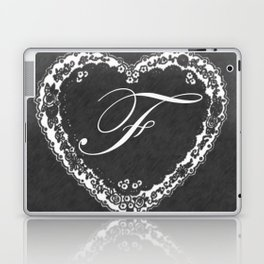 F Vintage Valentine Chalkboard Laptop & iPad Skin
