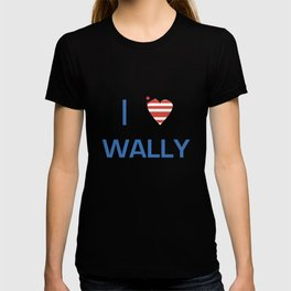 I Heart Wally T-shirt