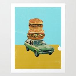 Drive Thru Art Print