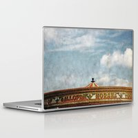 carousel Laptop & iPad Skins featuring Carousel by ALLY COXON