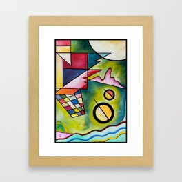 FIGURAS Framed Art Print