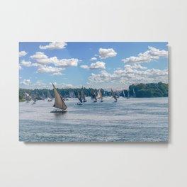 Nile River - Egypt Metal Print