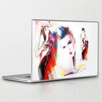 carnival Laptop & iPad Skins featuring carnival by tatiana-teni
