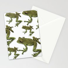 little frog prince  Stationery Cards